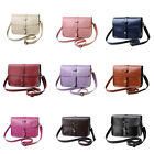 Women Shoulder Bag PU Leather Handbag Tote Purse Messenger Crossbody Bag tbus