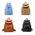Vintage Women's Backpack Travel PU Leather Handbag Rucksack Shoulder School Bag0