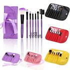 7 tlg Professionelle Kosmetik Pinsel Makeup Brush Set Schminkpinsel