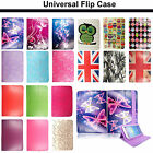 """Universal Leather Flip Stand Case Cover for Huawei Media pad 7"""" 8"""" 10"""" Tablets"""