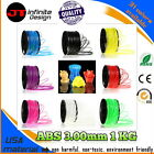SGS*Premium Quality 1 KG ABS 3.0mm 3D Printer Filament*USA Material*new in stock