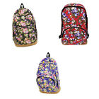 Vintage Women Girl Canvas Travel Satchel Shoulder Bag Backpack School Rucksack T