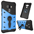 Armor Heavy Duty Hybrid Impact Stand Hard Case Cover For iPhone Samsung LG Asus