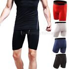 Herren Kompression Hose Compression Kurz Laufhose Leggings Radlerhose Sport