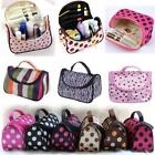 Multifunction Cosmetic Bag Makeup Case Pouch Toiletry Zip Wash Organizer s5