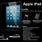 100% GENUINE GORILLA TEMPERED GLASS FILM SCREEN PROTECTOR FOR APPLE IPAD MODELS