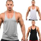 New Fahion Gym Men Muscle Shirt Tank Tops Bodybuiding Sport Fitness Vest N4U8