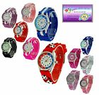 Reflex Time Teacher Watch Children Kids Girls Boy Xmas Gift + Telling Time Award