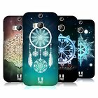 HEAD CASE DESIGNS SNOWFLAKES HARD BACK CASE FOR HTC ONE M8