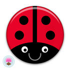 Personalised LADYBIRD Compact/Purse Pocket Mirror (58mm) Birthday Gift/Party Bag