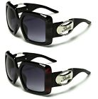 NEW Square Sunglasses Ladies Women Retro Vintage Giselle Designer Oversize 22046