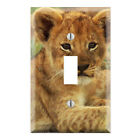 Decorative Lion Cub Wall Plate Cover