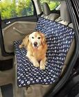 ADJUSTABLE QUILTED PET CAR SEAT COVER WATER RESISTANT EASY INSTALL 3 PATTERNS