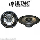 Mutant MT-M6 80W 2-Way 6.5 Inch 17cm Car Door/Shelf Coaxial Speakers New Pair