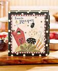COUNTRY STYLE RECIPE KEEPER BINDER RECIPE CARD PAGE PROTECTOR SET OR REFILL SET
