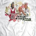 WHITE MEN CANT JUMP BILLY HO *WE GOIN SIZZLER* RARE DESIGN T-Shirt *MANY OPTIONS image
