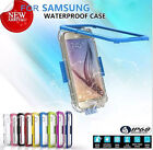 Waterproof Shockproof Life Cover Case For Samsung Galaxy S5 S6 edge plus Note 5