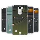 HEAD CASE DESIGNS JEANS POCKET SOFT GEL CASE FOR LG STYLUS 2