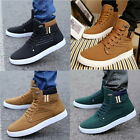 New Men Unique Retro Style Casual High Top Sneakers Sports Driving Canvas Shoes