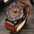 Kyпить Fashion Curren Mens Date Stainless Steel Leather Analog Quartz Sport Wrist Watch на еВаy.соm