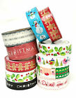 Craft Christmas Paper Sticky Tape Xmas Christmas Gift Wrapping 10  metres