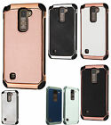 For LG Stylo 2 PLUS MS550 IMPACT HYBRID Plating Protector Case Skin Phone Cover