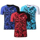 Jeansian Men's Sports Breathable Quick Dry Short Sleeve T-Shirts Running LSL193