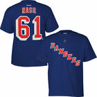 Rick Nash New York Rangers Reebok Name & Number T-Shirt - Royal Blue - NHL