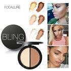 Bling Make up Face Contour Matte Powder Highlighter Shimmer Bronzer Concealer
