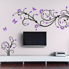 Wall Tattoo Wall Sticker Wall Stickers Living Room 2-colored Tendril W869