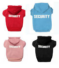 Hot Pet Dog Cat Fleece Clothes Jumpsuit Security Puppy Hoodie Dress Coat Costume