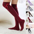 Pretty Cotton High Socks Womens Thigh High Hosiery Stockings Over The Knee CA#
