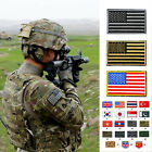 Embroidered American Flag Patch Tactical Patches Fabric Army Badge Armband 3D