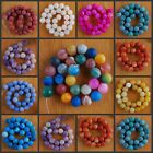 """VD1218-1227 14mm Wholesale Fire Agate Ball Loose Beads 14.5"""""""