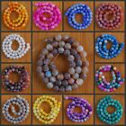 """VD1178-1191 8mm Wholesale Fire Agate Ball Loose Beads 14.5"""""""
