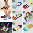 3 Pairs Men Invisible No Show Nonslip Loafer Boat Ankle Low Cut Cotton Socks US
