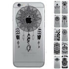 New Dream Catcher Notes Patterns Soft Clear Case Cover for iPhone 5 SE 6 6S Plus