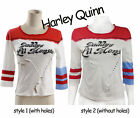 Harley Quinn T-Shirts Daddy's Lil Monster T-Shirts Costume Cosplay Size S/L
