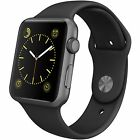 Apple Smart Watch 42mm Aluminum Ion-X Glass Case with Sport Band