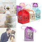 10/50/100 Pcs Luxury Iron Tower Wedding Party Favor Ribbon Candy Boxes Gift Box
