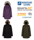 Regatta Womens/Ladies Schima Waterproof Insulated Walking Jacket Up to Size 28