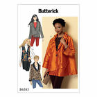 Butterick 6383 Sewing Pattern to MAKE Misses' Collared Vest & Jacket