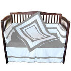 Neutral Double Hotel Crib Bedding