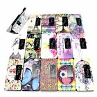 Fashion Colorful View Window Flip Cover Case Stand Case Cover Skin for Huawei P7