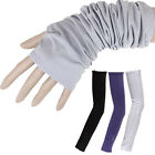1 Pair Cooling Athletic Sport Skins Arm Sleeves Gloves Sun Protective UV Cycling