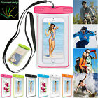 Universal Waterproof Case Cover Pouch Dry Bag Luminous Glow for iphone7/7Plus