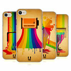 HEAD CASE DESIGNS COLOUR DRIPS HARD BACK CASE FOR APPLE iPHONE 7