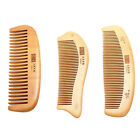 Pro Natural Wide Tooth Peach Wood No-static Massage Hair Care Mahogany Comb New