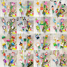 10pcs Funny Wooden Paper Clips Bookmark Stationery School Kids Gift Party Decor