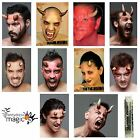Stick On Latex Devil Demon Satan FX Horns Halloween Wound Fancy Dress Prosthetic